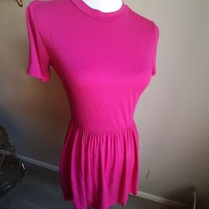 Velvet torch womens mini dress with pockets size M